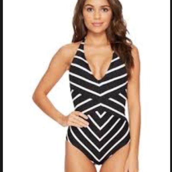 bae00f958d Ralph Lauren Swim | Lauren Rl Deauville Halter Slimming 1piece ...